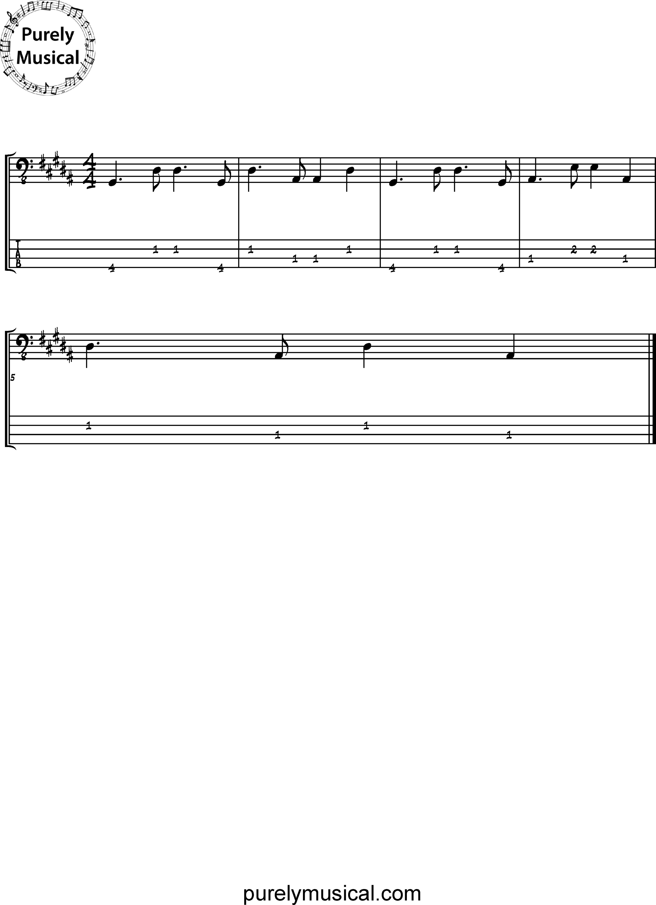 Intermediate  Bass Line Bossa Nova Bass Line G# Minor