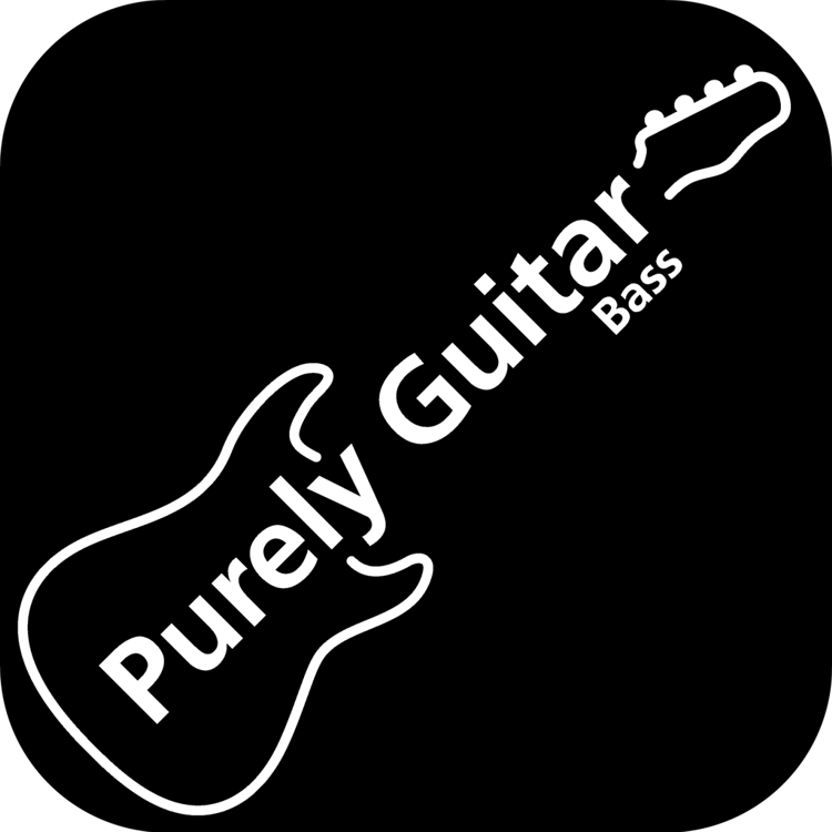 Purely Bass Guitar Logo